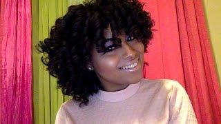 getlinkyoutube.com-Curly Fro: Perm Rod Set on Natural Hair