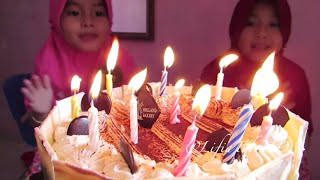 getlinkyoutube.com-Happy Birthday Niala ❤ Kue Ulang Tahun buat Niala dari Holland Bakery