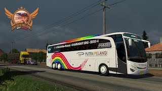 getlinkyoutube.com-ETS2 test drive OC500RF Putra Pelangi @ IZI map (tester)