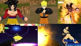 getlinkyoutube.com-Naruto vs Goku SSJ4 (DBZ)   Dragon ball z Tenkaichi Tag Team Mods