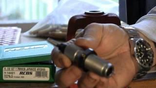 getlinkyoutube.com-Full length resizing rifle brass
