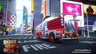 getlinkyoutube.com-Grand Theft Auto IV - FDLC/FDNY - Day 36 with the fire department! (ENGINE 47) BUSY SHIFT