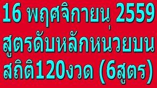 getlinkyoutube.com-สูตรคำนวณหวย 16/11/59 สูตรดับ หลักหน่วยบน แม่นๆ6สูตร พร้อมสรุปหลักหน่วยบน ดับหลักหน่วยบน 16/11/59