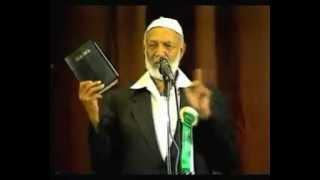 getlinkyoutube.com-Ahmed Deedat - Christianity Judaism or Islam - English FULL - Action Town Hall, London