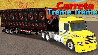 Grand Truck Simulator - Carreta Treme Treme e Quebra de Asa
