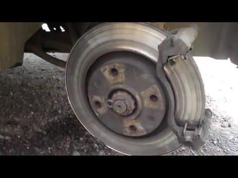 Замена передних тормозных колодок - как сделать