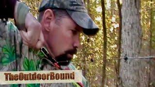 getlinkyoutube.com-Bowhunting: Whitetail Deer vs Thunderhead Broadhead