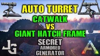 Optimal Turret Placement -  Catwalk or Hatch Frame? + Secret Armored generator trick