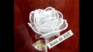 getlinkyoutube.com-Rosas de Pet Botella de plástico reciclaje ROSES made of recycled plastic bottle