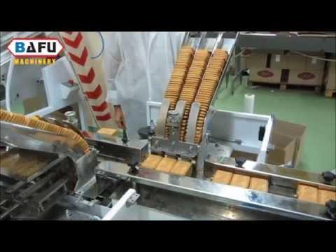 máquina de las galletas de embalaje, máquina de envasado de galletas, empaquetadora galleta