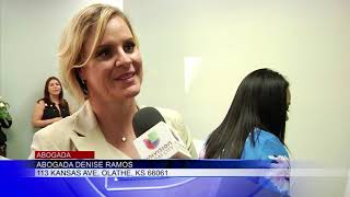 La abogada Denise Ramos inauguró una segunda oficina en Olathe