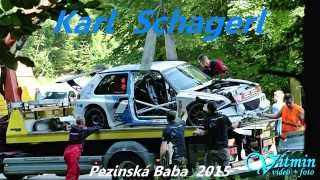 getlinkyoutube.com-Karl Schagerl - VW Golf Rallye - Pezinská Baba 2015 - CRASH