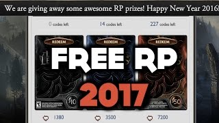 getlinkyoutube.com-League of Legends How to Get Free RP | RP Codes 2016