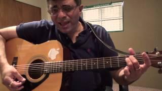 getlinkyoutube.com-Pudhu Mappillaikku Illayaraaja Guitar Chord and Strum Lesson by Suresh