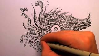 getlinkyoutube.com-How to Doodle: Some Tips (50x speed)