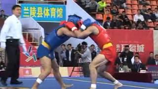 getlinkyoutube.com-Wushu Sanda Championship 2014 Men's 65kg Xu Ji Fu (Quảng Đông) VS  Zhang Yanqing (Hà Nam)