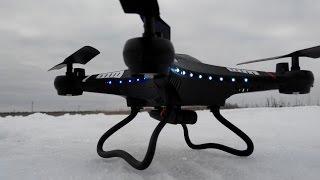 getlinkyoutube.com-Полет квадрокоптера JJRC H8C 2 MP и съемка с камеры