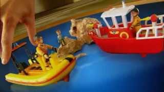 Smyths Toys - Fireman Sam Ocean Rescue Playset
