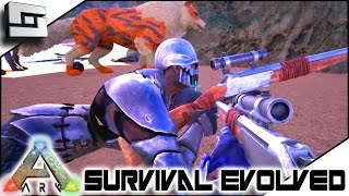 ARK: Survival Evolved - WAR DAY! S4E46 ( The Center Map Gameplay )