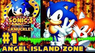 getlinkyoutube.com-Sonic 3 and Knuckles - (1080p) Part 1 - Angel Island Zone