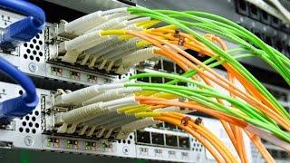 getlinkyoutube.com-Fiber Optic Media Converter with 4 Ports RJ45