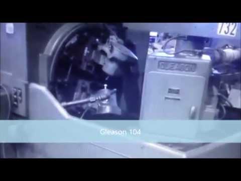 Geradora de Engrenagens Cônicas Retas Gleason 104