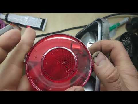 Фонари PROSPORT на ваз 2106 легкое восстановление