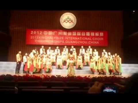 Sixers Voice Choir _ 2012 1st Xinghai Prize International Choir Championship Guangzhou China