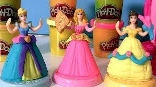getlinkyoutube.com-Play Doh Disney Prettiest Princess Castle Playset O Castelo Mais Lindo das Princesas Disney Play-Doh