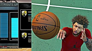 getlinkyoutube.com-NBA 2k16 MyPark - 97 OVERALL OUTSIDE POINT GUARD ATTRIBUTE UPDATE! | SIGNATURE STYLES & FIRE JUMPER