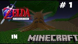getlinkyoutube.com-The Legend of Zelda: Ocarina of Time Minecraft Map: Update #1