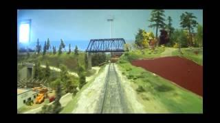 getlinkyoutube.com-The Minnesota Central Model Railway HO Layout, 1,320' of Main LIne!
