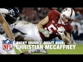 Scouting Christian McCaffrey Stanford, RB | Bucky Brooks Draft Notebook | NFL NOW