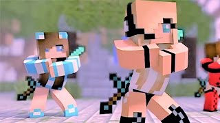 "getlinkyoutube.com-Minecraft Videos and Songs: ""Boys Can't Beat Me"" Psycho Girl 2: Minecraft Videos"