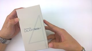 getlinkyoutube.com-Samsung GALAXY Note 4 (갤럭시 노트 4) 박스 개봉기
