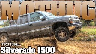 getlinkyoutube.com-Unstoppable Chevy Silverado 1500 backyard thrash, Mothug Doug