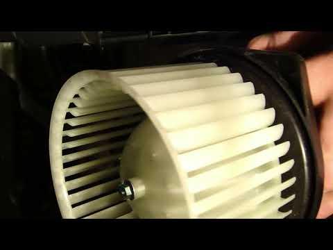 Замена вентилятора печки на лансере 10