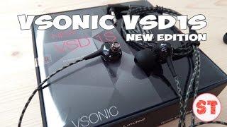 getlinkyoutube.com-VSONIC VSD1S наушники нового поколения, распаковка