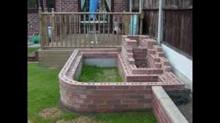 getlinkyoutube.com-How To Build Your Own Garden Fish Pond & Waterfall 2012.