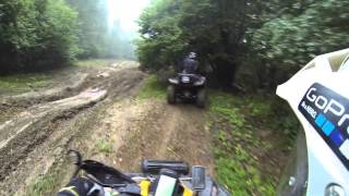 getlinkyoutube.com-Outside ... on new routes. CAN-AM Renegade & YAMAHA Grizzly