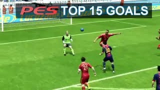 getlinkyoutube.com-PES 2013 Top 15 Goals