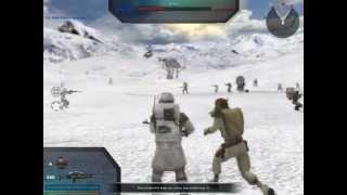 getlinkyoutube.com-Star Wars Battlefront II HUGE Hoth battle