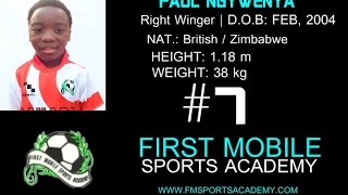 FMSA - 11 yrs Old Paul Ngwenya