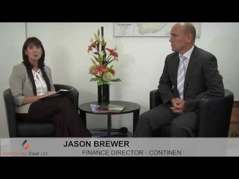 Continental Coal: Interview with Jason Brewer Finance Director May 2013