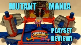 getlinkyoutube.com-GTS ACTION INSIDER: Mutant Mania Rampage Arena Wrestling Figure Ring Review! Moose Toys