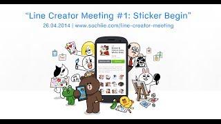 "getlinkyoutube.com-LINE Creator Meeting #1: ""เริ่มต้นทำ LINE Sticker"" (Sticker Begins)"