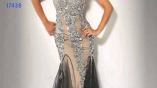 getlinkyoutube.com-Hollywood GLAM - Jovani 7833, 73154, 158504