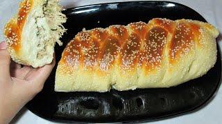 Chicken Bread Recipe - How to make Chicken Bread - Easy Bread Recipe