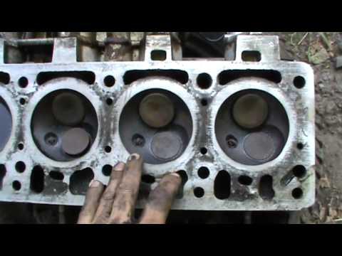 Замена прокладки головки в двигателе Москвича 2141
