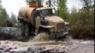 getlinkyoutube.com-No roads needed for Russian trucks